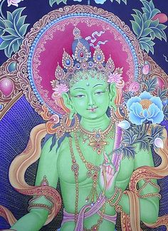 Green Tara -- Mother of all the Buddhas
