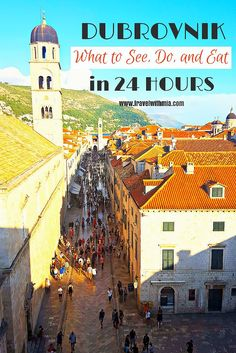 Find out what to do with your 24 hours in Old Town Dubrovnik, Croatia.
