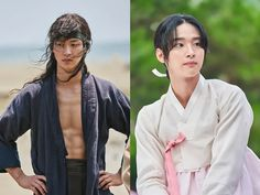 Impressive Contrast of Jang Dong Yoon's Smexy Male Character to Cross-dressing Beautiful Female Charade in The Tale of Nokdu Korean Celebrities, Korean Actors, Kdrama Actors, Cute Actors, Guy Names, Drama Movies, Good Looking Men, Asian Men, Series Movies