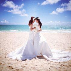 Beach Brides! www.snapshots.com/weddings
