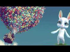 Шикарное поздравление с днем рождения женщине девушке! Красивые поздравления ZOOBE Муз Зайка - YouTube