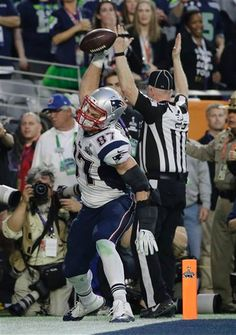 patriots super bowl feb 1 2015 GRONK - DEFLATE THIS!