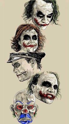 Heath Ledger Joker Wallpaper, Joker Ledger, Batman Joker Wallpaper, Joker Wallpapers, Heath Ledger Tattoo, Joker Face Tattoo, Clown Tattoo, Joker Tattoos, Joker Sketch