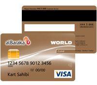 Albaraka Türk World Kredi Kartı Başvuru ve Sonucu Öğrenme - http://www.turkiyekredi.com/albaraka-turk-world-kredi-karti-basvuru-ve-sonucu-ogrenme.html