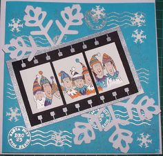 Christmas card  *stamps from Stampin' Up