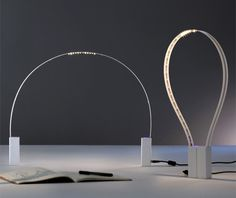Fluida, Studio Natural's reworking for Martinelli Luce of Lumina's Geco.
