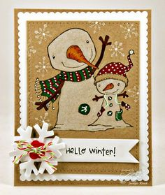 Jen Roach - Stacey Yacula Winterberry and Berry card