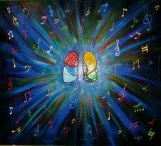 Pluca czuje drgania od muzyka (nieslyszacy)
