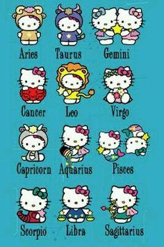 Hello Kitty Horoscopes