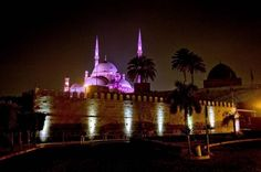 Best Cairo Egypt Private Tours & Vacation Packages - Cairo is the capital of Egypt, the most important city, Inhabited by more than a quarter of Egypt's population. Historically named as the city of a thousand minaret for the multitude of mosques. Holidays In Egypt, Honeymoon Vacations, Light Architecture, Islamic Architecture, Beautiful Mosques, Egypt Travel, Cairo Egypt, Vacation Packages, Landscape Lighting