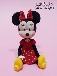 Minnie Mouse - by Lucia Busico @ CakesDecor.com - cake decorating website