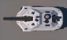 sci-fi future tank concept printable 3d model max obj fbx stl 14