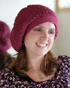 8 Free Crochet Hat Patterns