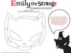 ETS Cat Pumpkin Cutout by RevoLeGnever on deviantART