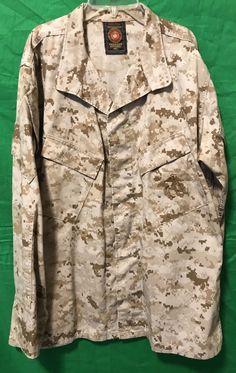 9dd217f64db07 Details about USMC Desert Marpat Marine Corps Blouse Mens Medium