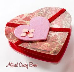 Make it: Valentine Altered Candy Boxes