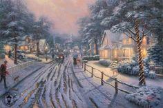 kinkade hometown christmas memories