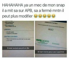Read ahahaha from the story Images Trop Drôle( Internet) by flbibiche with reads. Twitter Quotes Funny, Funny Tweets, Funny Quotes, Funny Memes, Jokes, Best Tweets, Pokemon, Prank Videos, Morning Humor