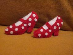 Broche zapato flamenca atado