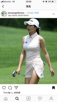 Mind Blowing Ineffable Golf Pro Ideas and Tips. Irrestible Golf Pro Ideas and Tips. Girls Golf, Ladies Golf, Golf Fashion, Sport Fashion, Ladies Fashion, Girl Golf Outfit, Sexy Golf, Swimming Sport, Golf Attire