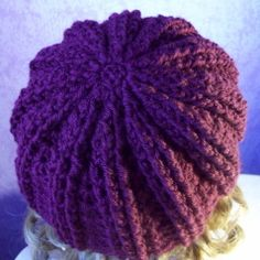 Ribbed Hat | Free Crochet Pattern