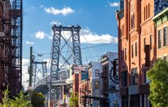 The Williamsburg Bridge in Brooklyn. It may be 112 years old, but it still looks pretty great. #realestate #NewYork