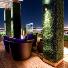 Dallas rooftop garden... does this count as a backyard?