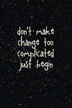 #findingserenity #change