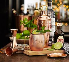 Do you have a favorite drink during the holidays? We love Moscow Mules partially because they are delicious on a cold night but also because we love the copper mugs.