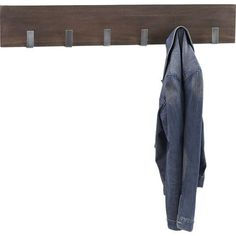Wall Coat Rack, $75 | 29 Stylish Home Accessories Under $100 To Upgrade Any Guy's Pad