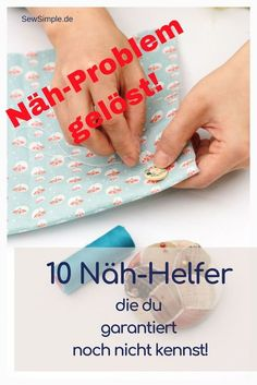 ᐅ 10 Näh-Helfer, die du garantiert nicht kennst! You know yourself really good in the sewing world? And already have all sewing problems under control? We introduce 10 sewing helpers that you certainly do not know yet! Easy Sewing Projects, Sewing Projects For Beginners, Knitting For Beginners, Sewing Hacks, Sewing Tutorials, Sewing Crafts, Sewing Tips, Origami, Diy Mode