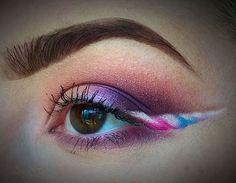A maquiagem de unicórnio é a cara desse carnaval! #carnaval #maquiagem #unicórnio #makeup #fantasias