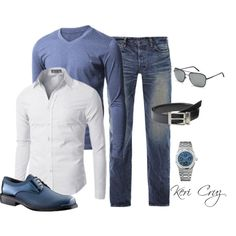 Casual, created by keri-cruz on Polyvore