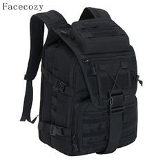 Facecozy Outdoor Camping Hiking Waterproof Military Backpack Men&Women Softback Travel Unisex Tactical Backpack Climbing Mochila (32791618843)  SEE MORE  #SuperDeals