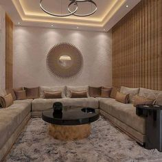 Isn't it so glam and gorgeous! Best Living Room Design, Home Room Design, Dream Home Design, Living Room Modern, Interior Design Living Room, Living Room Designs, Living Room Decor, House Design, Living Room Seating