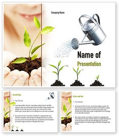 Green Education PowerPoint Template…