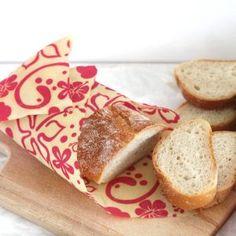 Urob si sám - voskované obrúsky ako obal na potraviny - Recepty Kulinárium Samos, Bread, Food, Meal, Essen, Hoods, Breads, Meals, Sandwich Loaf