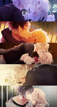Diabolik Lovers kiss