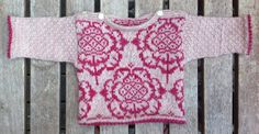 I just love the peony design (modified from  a pattern by Solveig Hisdal).
