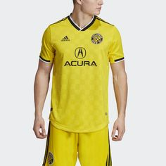 b2893a1f029 Columbus Crew SC Home Authentic Jersey. Columbus CrewYellow AdidasAdidas  WomenPolo ShirtPolo ...