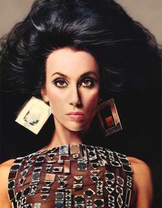 Cher for Vogue Magazine, December 1974 #1970s #vintage
