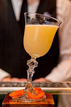 "Cocktail - mango flavour - get recipe FB - Trust me I'm a ""Bartender"""