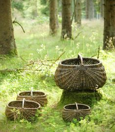 Baskets and bird feeders Wicker Baskets, Picnic, Outdoor, Frame, Decor, Outdoors, Picture Frame, Decoration, Picnics