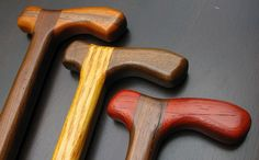 Handmade Walking Sticks, Walking Sticks And Canes, Wooden Walking Sticks, Walking Canes, Bandsaw Projects, Walking Staff, Cane Stick, Good Posture, Animal Projects