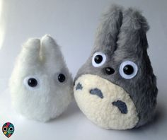 Hey, I found this really awesome Etsy listing at https://www.etsy.com/listing/213160465/mini-totoro-plushies
