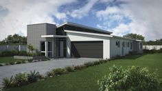 G.J. Gardner Wright plan. With the Platinum exterior look. From the Family Series range