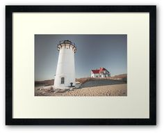 Race Point Lighthouse Provincetown Cape Cod. Dapixara photography art. • Also buy this artwork on wall prints, apparel, phone cases, and more.