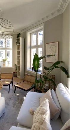 Family Room Design, Home Room Design, Living Room Designs, House Design, Interior Architecture, Interior Design, Interior Decorating, Cozy Room, House Rooms