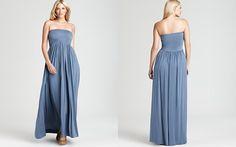 Rachel Pally White Label Plus Kai Strapless Maxi Dress