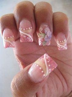 nails by itslulu74_nailz - Nail Art Gallery nailartgallery.na... by Nails Magazine www.nailsmag.com #nailart